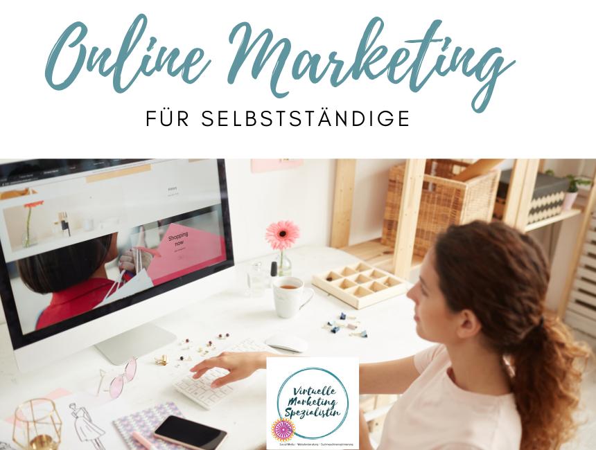 Beispielbild Online Marketing Selbständige