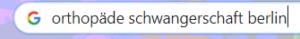 Beispiel Google Suche Keyword