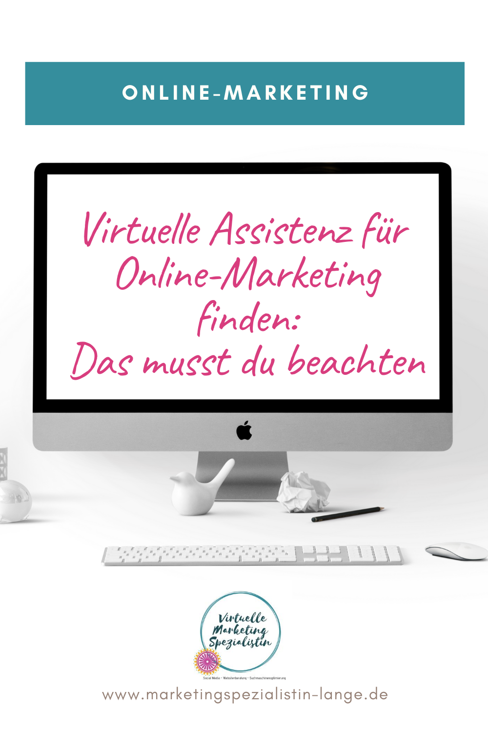 Virtuelle Assistenz für Online-Marketing finden