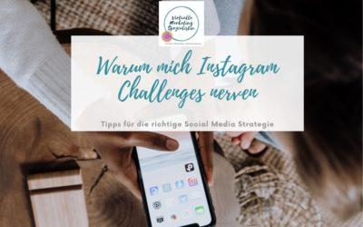 Instagram Challenge für mehr Follower – Tipps und Gedanken