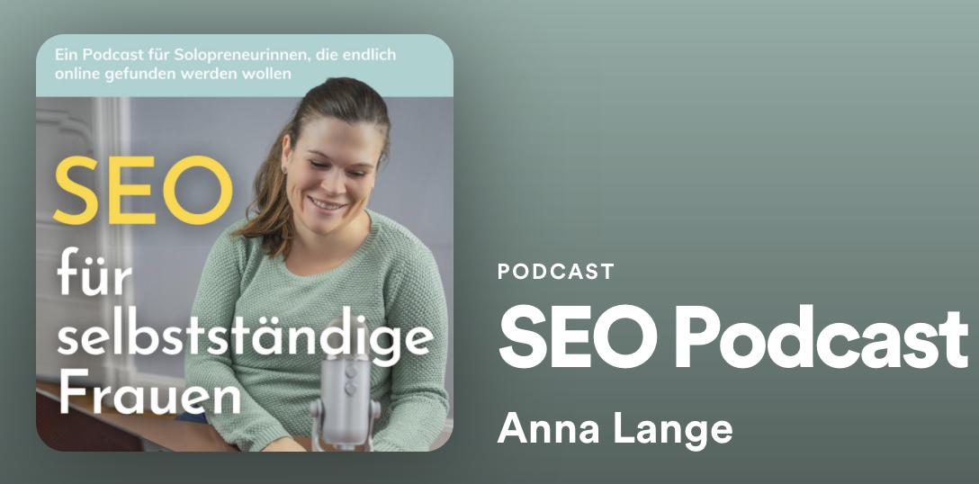 SEO Podcast für selbstständige Frauen